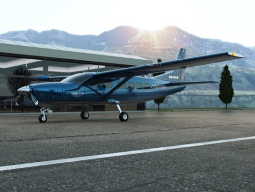 Surf Air Mobility orders up to 150 Cessna Grand Caravans for fitting with series-hybrid powertrains
