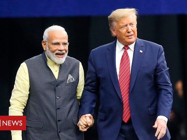 Modi to Trump: 'My honour to introduce you to my family'