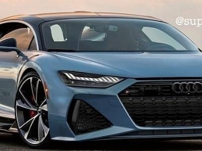 Audi RS7 Supercar Is a Weird Bugatti Chiron Hybrid