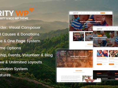 Charity WP - Nonprofit and Fundraising WordPress Theme (Charity)