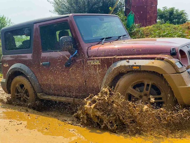 2020 Mahindra Thar Shows Off Water Resistant Interior In Latest TVC