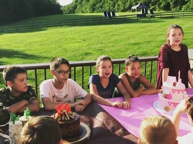 Kate Gosselin Gets Emotional Celebrating Sextuplets' Birthday Without Collin (VIDEO)