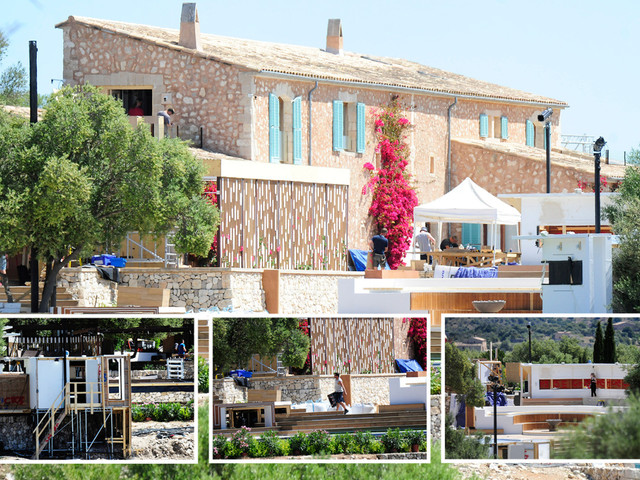 Love Island crew's frantic scramble to complete the villa just two weeks ahead of launch night
