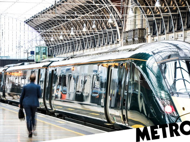 What are the off-peak hours for trains in the UK?