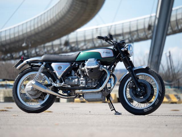 "Custom Moto Guzzi 1000SP ""Tridente"" Blends Italian Workmanship and Vintage Vibes"
