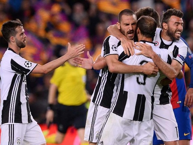 Champions League: Juventus Hold Firm To Knock Out Barcelona