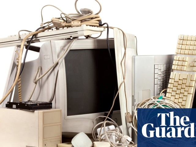 What should I do with old electronic devices?