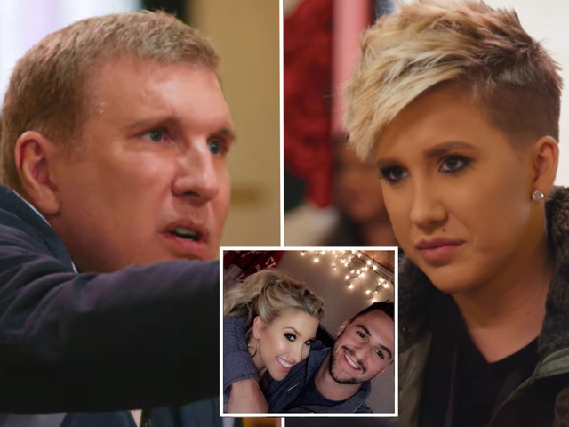 Todd Chrisley calls daughter Savannah, 22, 'bats**t crazy' as she cuts all her hair off and ends engagement