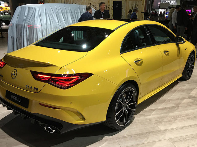 2019 Mercedes-AMG CLA 35 arrives at New York with 302bhp