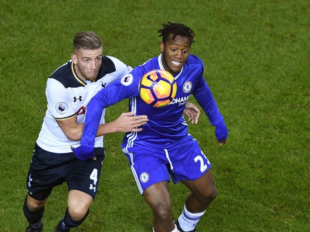 Michy Batshuayi trying to engineer a move to Tottenham Hotspur?