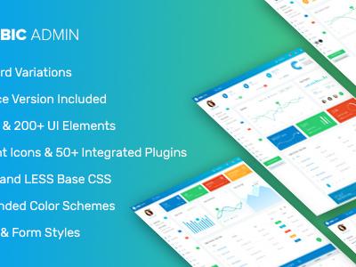 Cubic Admin - Multipurpose Bootstrap Admin Template (Admin Templates)
