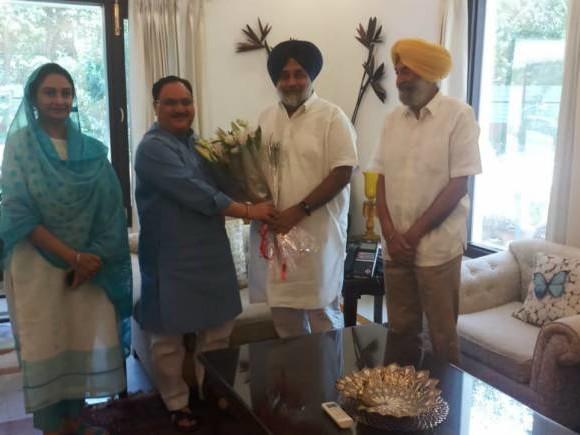 Shiromani Akali Dal quits BJP-led NDA over contentious farm bills