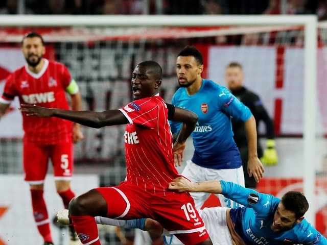 Cologne 1-0 Arsenal live score and goal updates as Gunners finish top of the group despite defeat