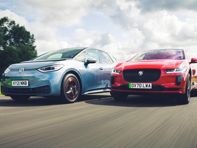 New vs used: Volkswagen ID 3 vs Jaguar I-Pace