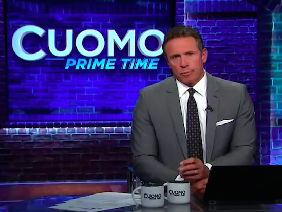 CNN's Chris Cuomo Announces He Tested Positive for Coronavirus