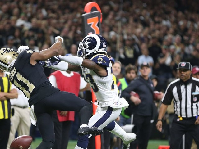 Good news, Saints: blown pass interference calls are now reviewable