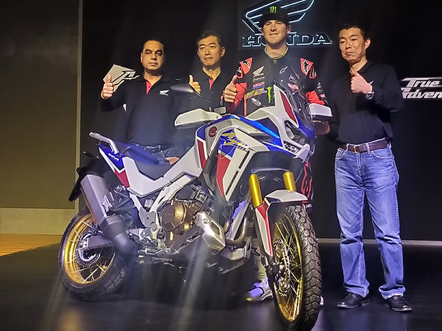 2020 Honda Africa Twin Adventure Sports launched from Rs 15.35 lakh
