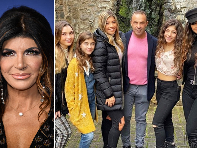Real Housewife Teresa Giudice could snub husband Joe and not visit him in Italy for Christmas
