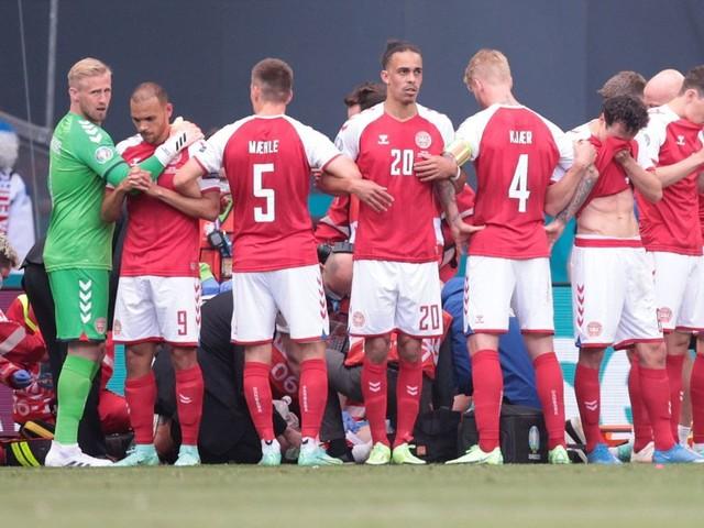 Christian Eriksen updates after Denmark star collapses during Euro 2020 clash