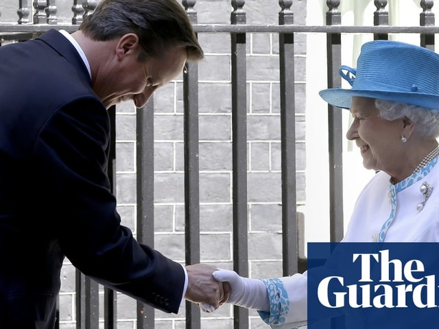 Cameron asked Queen to 'raise eyebrow' during Scottish independence referendum – video