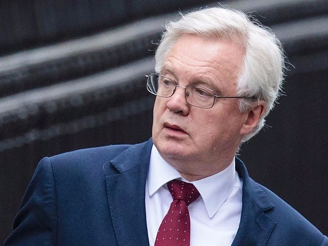 David Davis says that hard Brexit could be a 'real problem' for peace in Northern Ireland