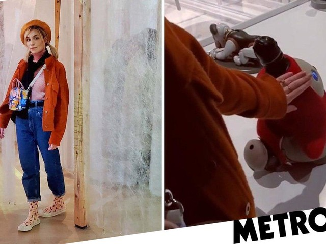 Marzia Kjellberg 'rejected by robot' as she and PewDiePie jet to Japan for YouTube break