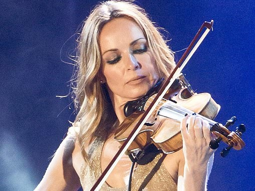 ADRIAN THRILLS: CORR! Sharon shows she's second fiddle no more