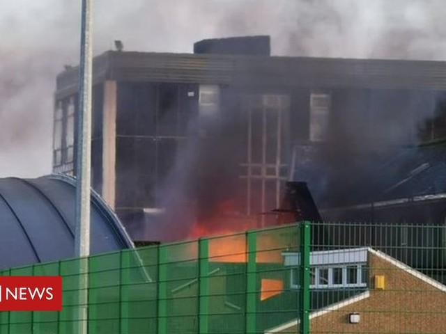 Peebles High School pupils return to classroom after major fire