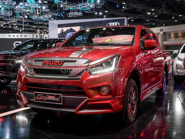 2019 Isuzu D-Max V-Cross Facelift Spotted Testing Again In India