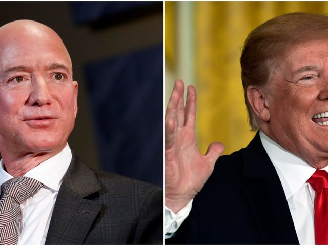 Trump reportedly tried to stop Amazon from winning a $10 billion cloud deal, but experts say Microsoft won on its own merits (AMZN, MSFT)