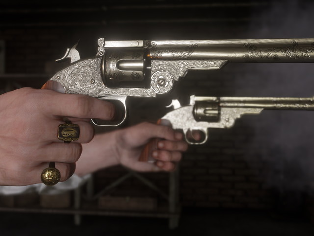 Red Dead Redemption 2: best weapons and where to find all Rare and Unique weapons