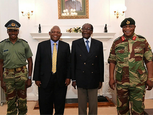 Mugabe meets generals, refuses to stand down