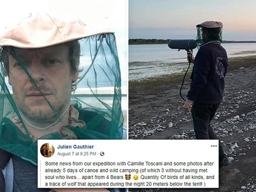 Musician gathering nature sounds in isolated western Canada is fatally attacked by a grizzly bear