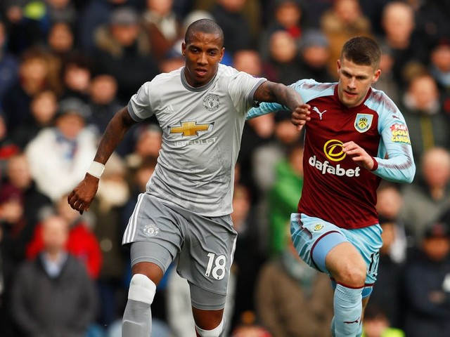 Jose Mourinho explains why he started Ashley Young ahead of Luke Shaw for Manchester United's away clash at Burnley
