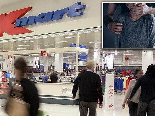 Man, 26, is charged with kidnapping a girl, 7, from a Kmart before sexually assaulting her