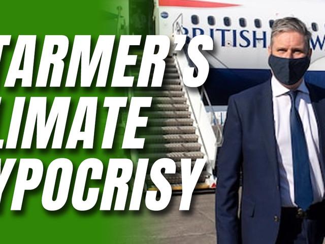 Starmer Flies to Edinburgh Despite Supporting a Green New Deal