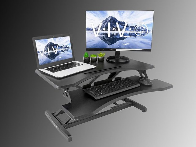 Turn your desk at home into a standing desk for $80 - CNET