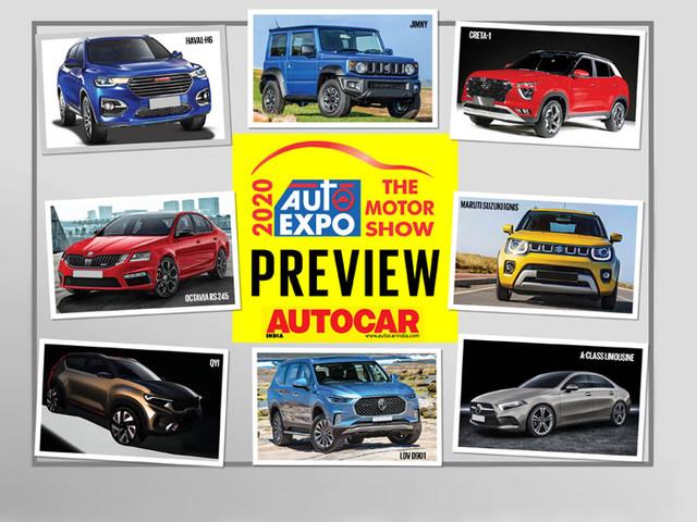 Auto Expo 2020 preview