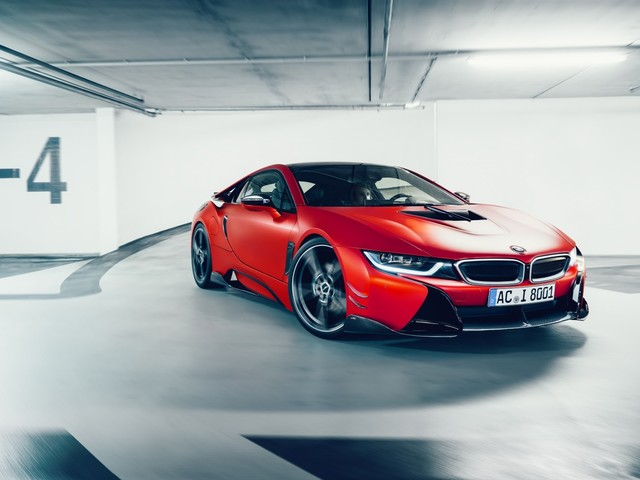 Video: AC Schnitzer BMW i8 Claims Fastest Nordschleife Lap Time