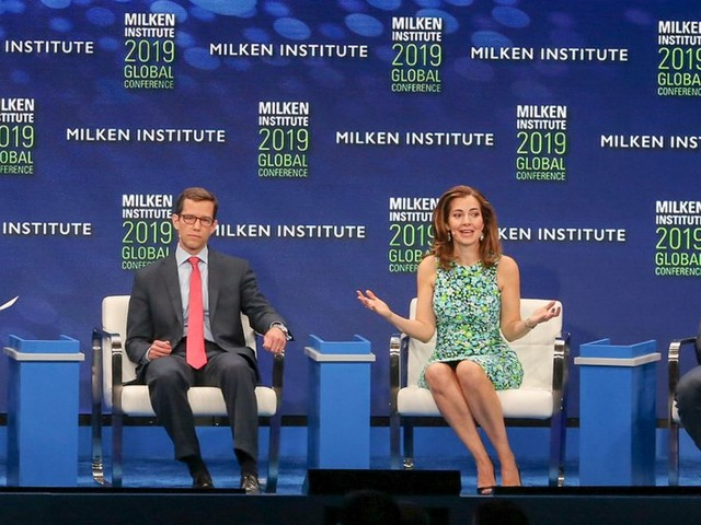 Billionaire cabana meetings and secret confessions: Milken's male-heavy conference for the global elite shows finance is all talk when it comes to gender equality