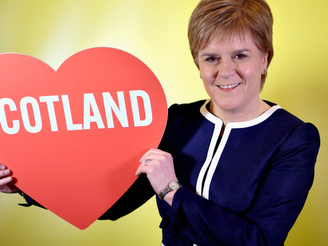 Why Scotland's Leader Is Rallying Support For A New Independence Referendum