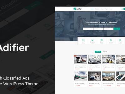 Adifier - Classified Ads WordPress Theme (Directory & Listings)