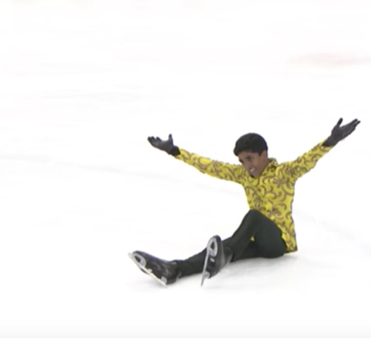The Lowest-Ranked Male Figure Skater in History Is One of My All-Time Favorite Athletes