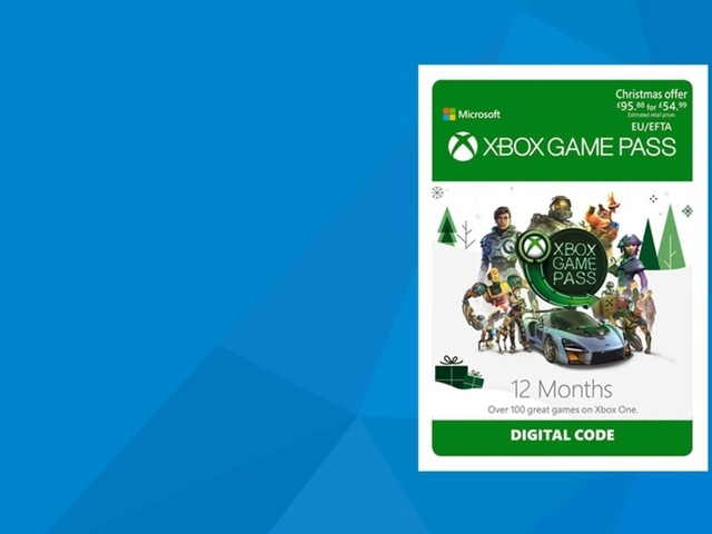 Get a year's worth of Xbox Game Pass for half price