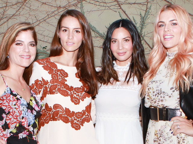 Busy Philipps, Olivia Munn & Selma Blair Celebrate Chloe Gosselin's New Collection!