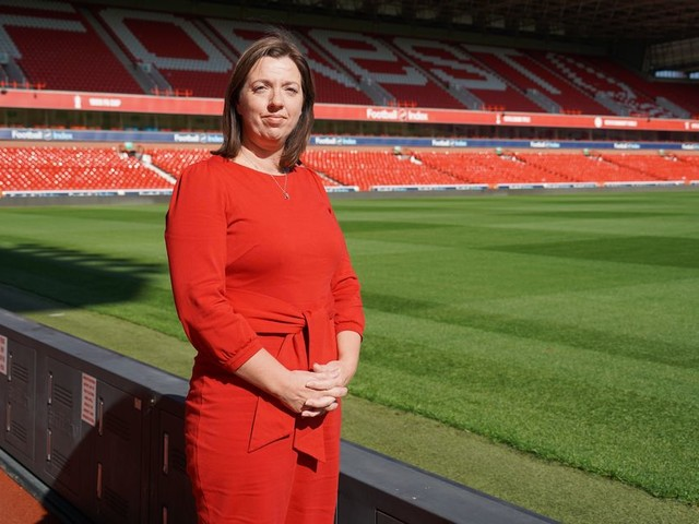 The woman who helps run 'a tight ship' at Nottingham Forest