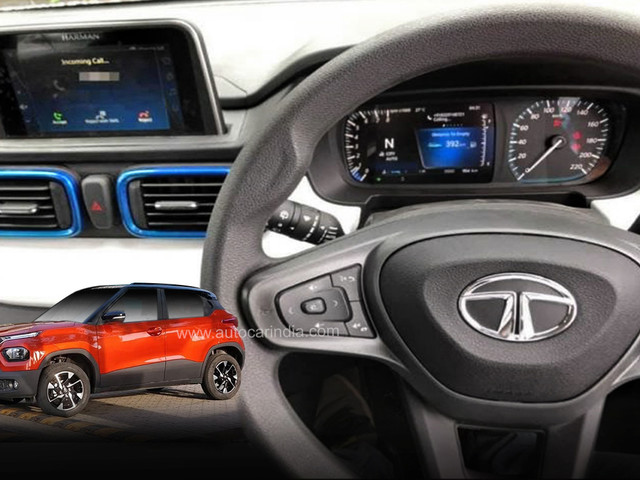 Tata Punch interior leaked; reveals some features