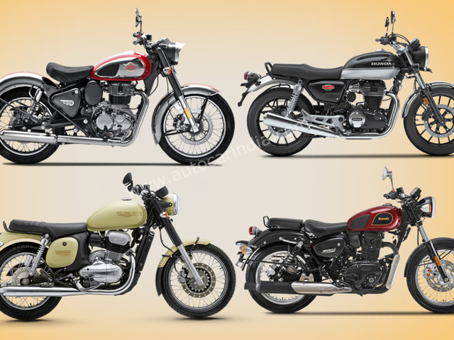 2021 Royal Enfield Classic 350 vs rivals: Specifications comparison