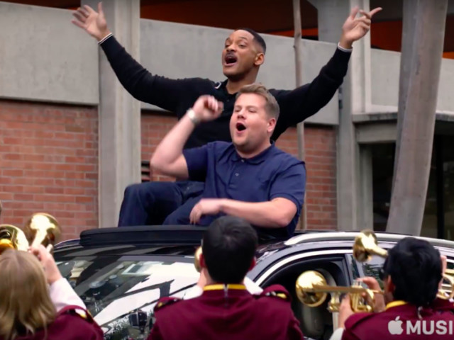 Will Smith and James Corden Get Jiggy With It on Apple's New Carpool Karaoke Series