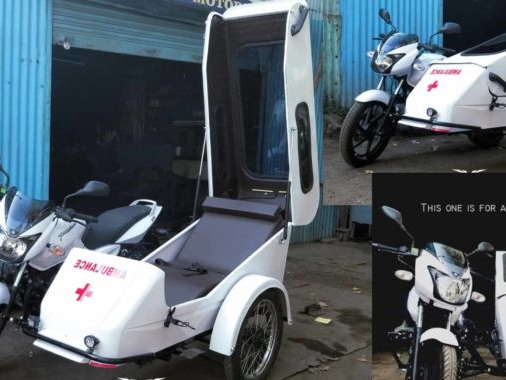 Check Out This Bajaj Pulsar Powered Ambulance By Ornithopter Moto Design